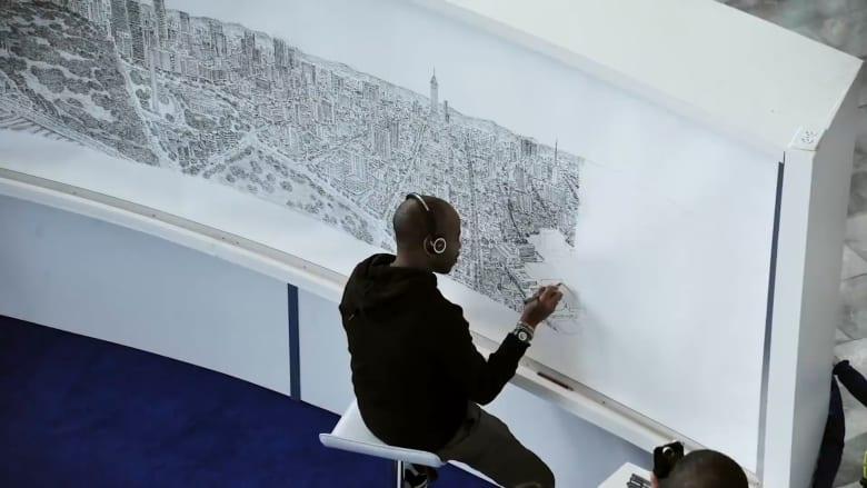 قابلوا الرجل الذي يمكنه رسم مدن بأكملها من الذاكرة