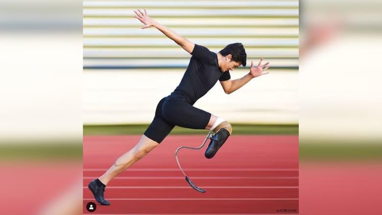بعد أن خسر ساقه في حادث سيارة.. أرز يحاول كسر رقم غينيس في دبي