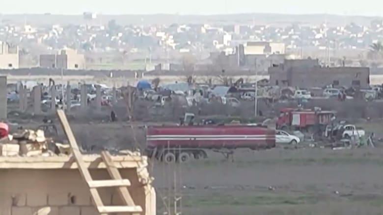 كاميرا CNN تدخل آخر جيب لداعش في سوريا
