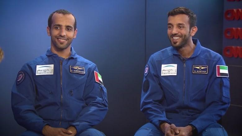 CNN تنفرد بلقاء حصري مع أول رائدي فضاء إماراتيين