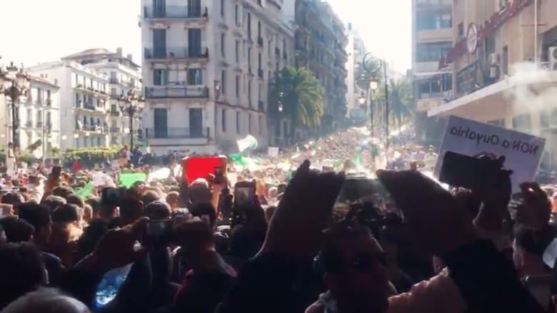 """لم تشهد احتجاجات مثلها منذ 1962.. الجزائر """"تنتفض"""" ضد بوتفليقة"""