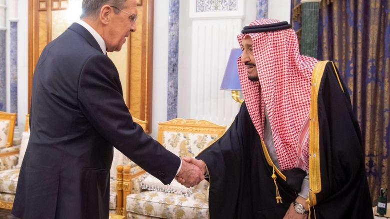 هل تطرق لافروف والملك سلمان لقضية مقتل جمال خاشقجي؟
