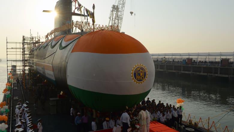 """الهند تكذب رواية باكستان بشأن الغواصة وتتهمها بخلق """"هيستيريا"""""""