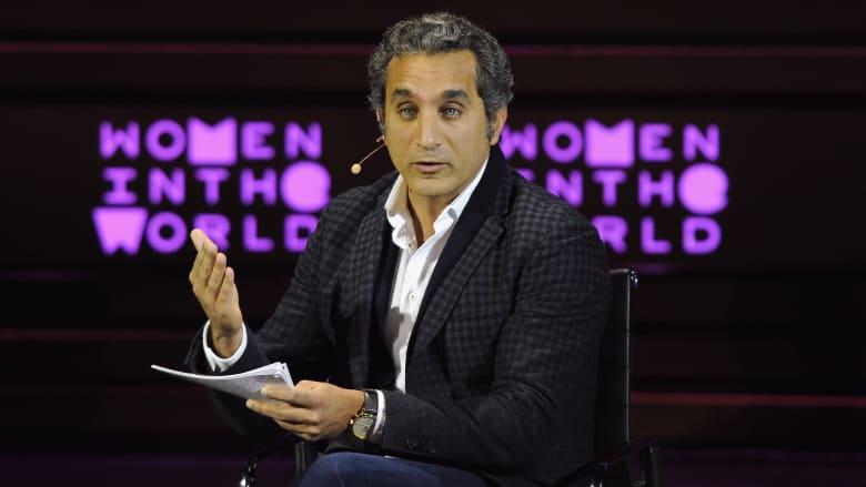 """باسم يوسف يوضح كيف تتعامل مع """"الشتيمة"""" ويقدم 10 نصائح"""