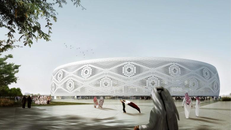 حريق في أحد ملاعب كأس العالم 2022 في قطر