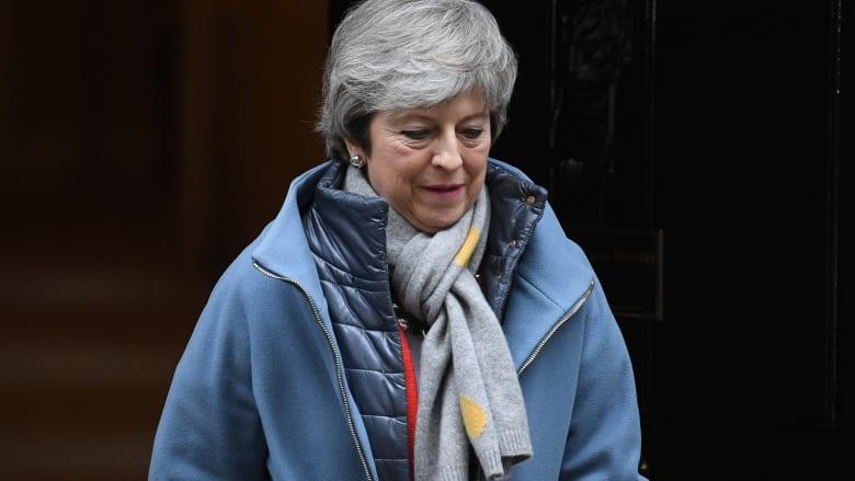 """البرلمان البريطاني يخذل تيريزا ماي مجددا ويرفض """"خطة بركسيت"""""""