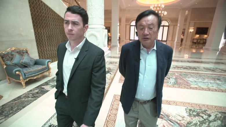 بأول مقابلة منذ إعلان رفع دعوى ضد أمريكا.. مؤسس هواوي يتحدث لـCNN