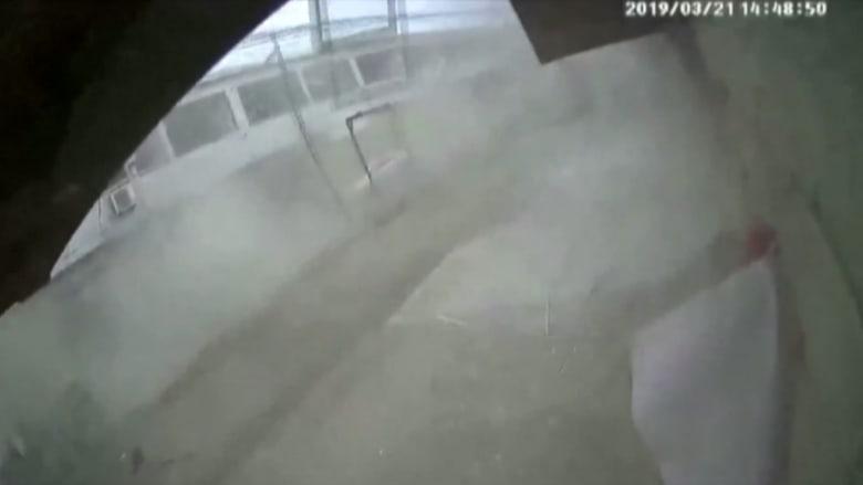 شاهد لحظة وقوع انفجار ضخم بمصنع كيماويات في الصين