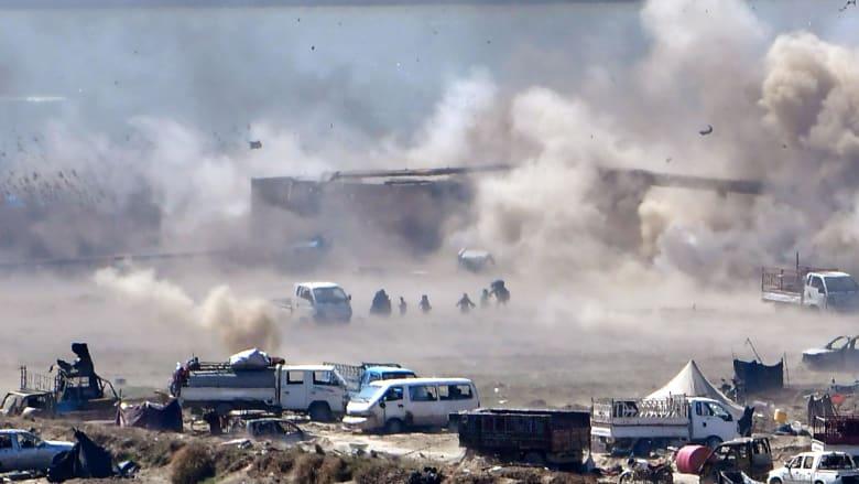 """قوات سوريا الديمقراطية تنهي """"خلافة"""" داعش كليا بسوريا"""