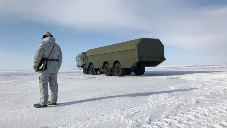 CNN تدخل قاعدة روسية استراتيجية في القطب الشمالي