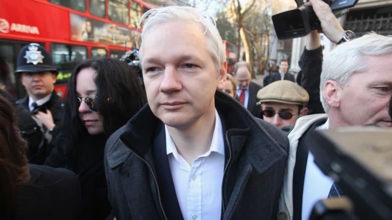 """الشرطة البريطانية تعلن اعتقال جوليان اسانج مؤسس """"ويكيليكس"""""""