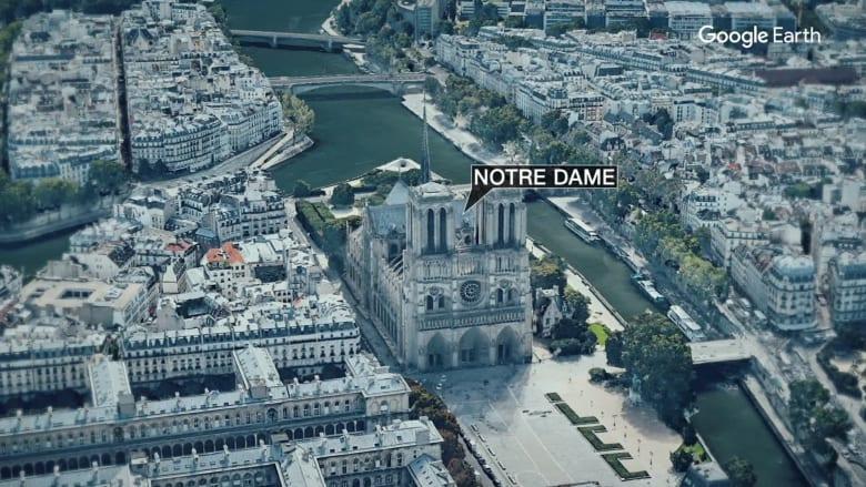 """شاهد عيان كان بداخل """"نوتردام"""" في باريس ينقل ما حدث لـCNN"""