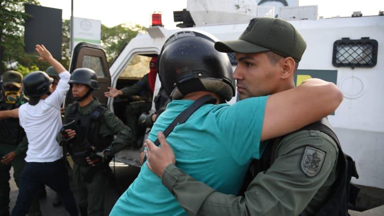 محاولة انقلاب عسكري في فنزويلا.. والبيت الأبيض يُطلع ترامب على التطورات