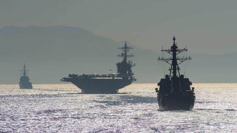 ما حجم القوة الأمريكية المتوجهة للمنطقة كرسالة إلى إيران؟