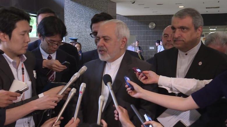 وزير خارجية إيران عن تصعيد أمريكا: نمارس أقصى درجات ضبط النفس