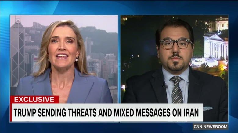 محلل يتحدث لـCNN عن رسائل ترامب واستراتيجيته بوجه إيران
