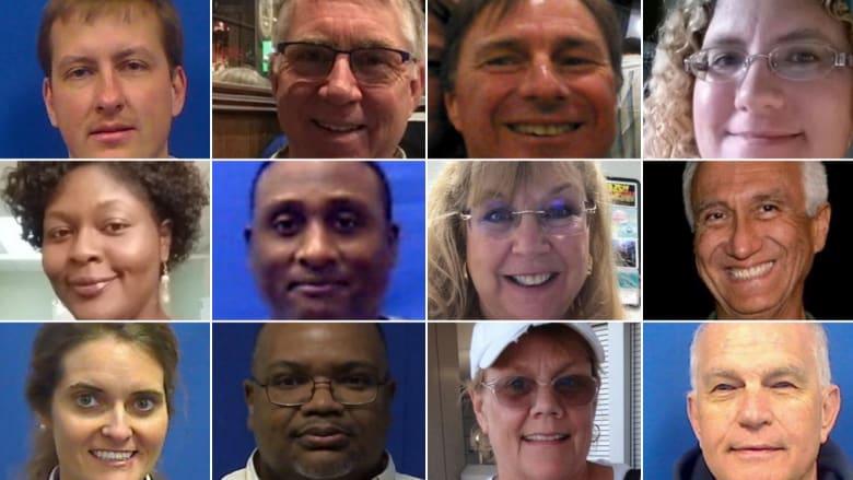 هؤلاء هم ضحايا إطلاق النار في فرجينيا بيتش