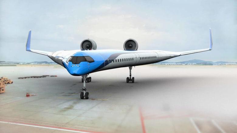تصميم جديد لطائرة تحمل الركاب على أجنحتها يقترب من التنفيذ