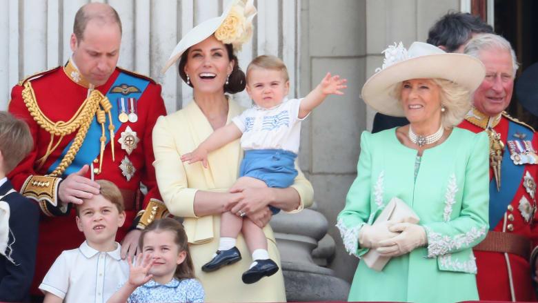 شاهدوا احتفال العائلة الملكية بعيد ميلاد الملكة إليزابيث