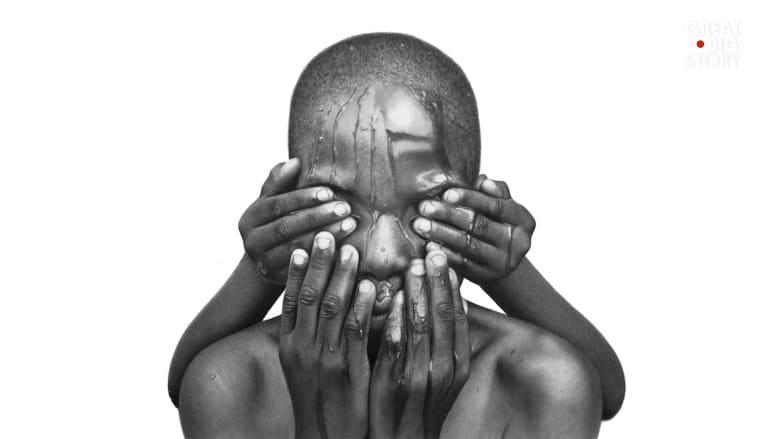 صورة أم لوحة؟ فنان نيجيري يربك الجمهور بأعمال شديدة الواقعية