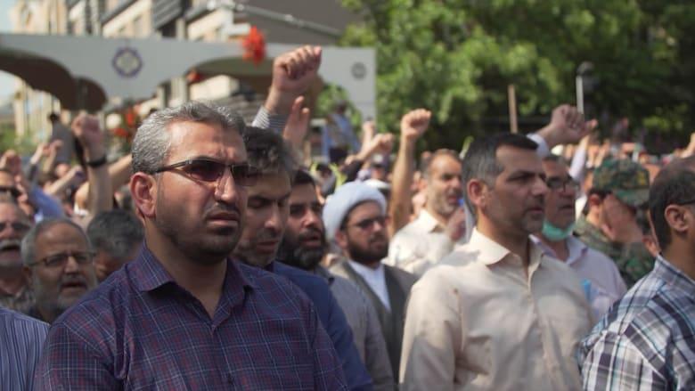 شاهد.. أجواء مشحونة وصراع مرتقب بين إيران والولايات المتحدة