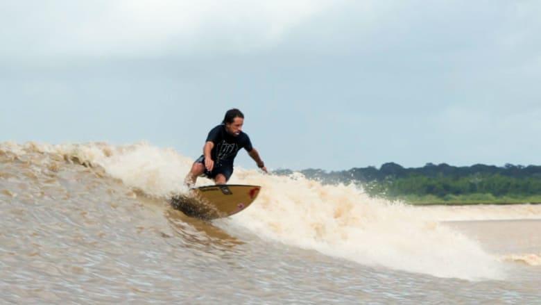هل تجرؤ على ركوب أمواج الأمازون..الأكبر في العالم؟