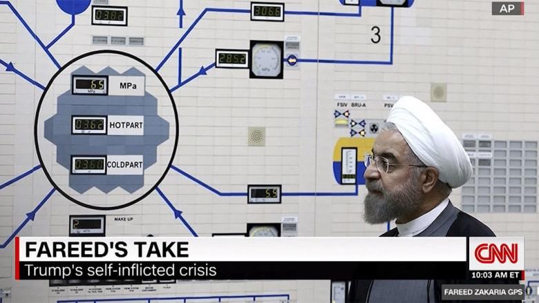 زكريا يوضح لـCNN أمورا يغفل عنها ترامب بمواجهته إيران