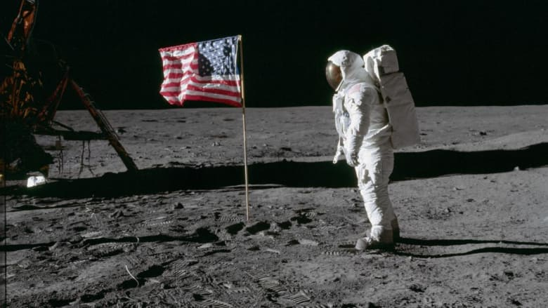 شاهد هبوط أول إنسان على القمر كما شاهده العالم قبل 50 عاماً