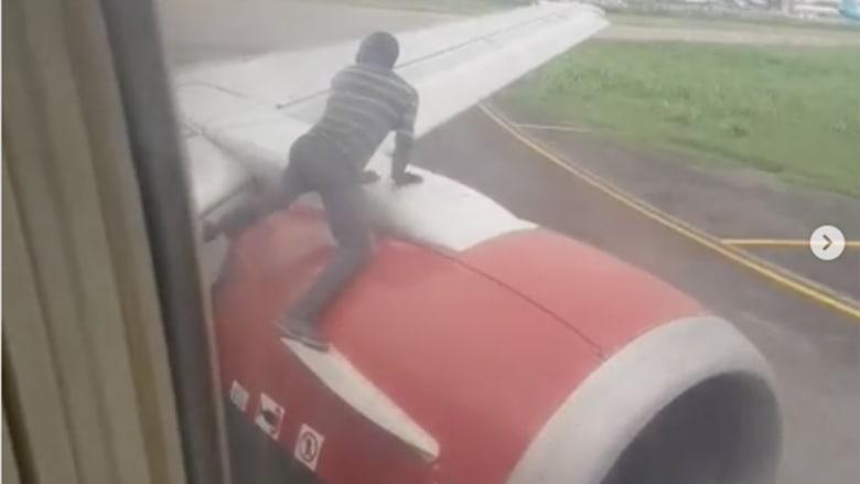 طائرة كانت على وشك الإقلاع.. لكن حدث ما لم يكن متوقعاً