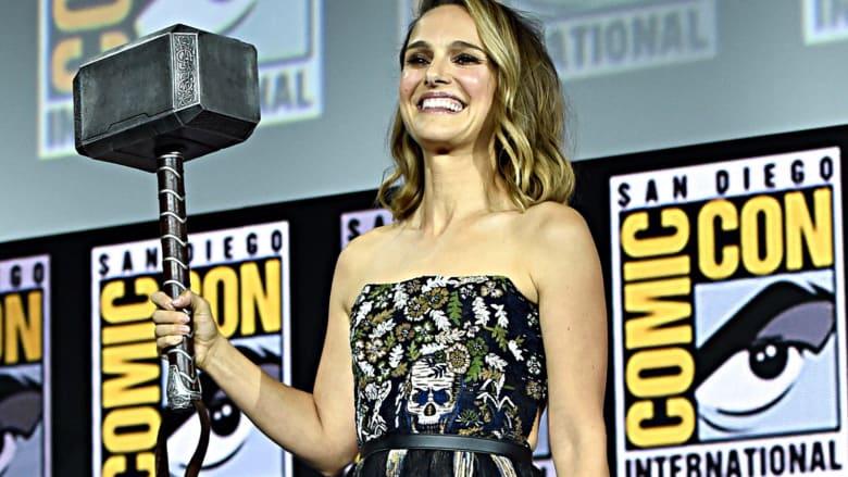 """من سيلعب دور النسخة النسائية من """"ثور"""" في فيلم مارفل الجديد؟"""
