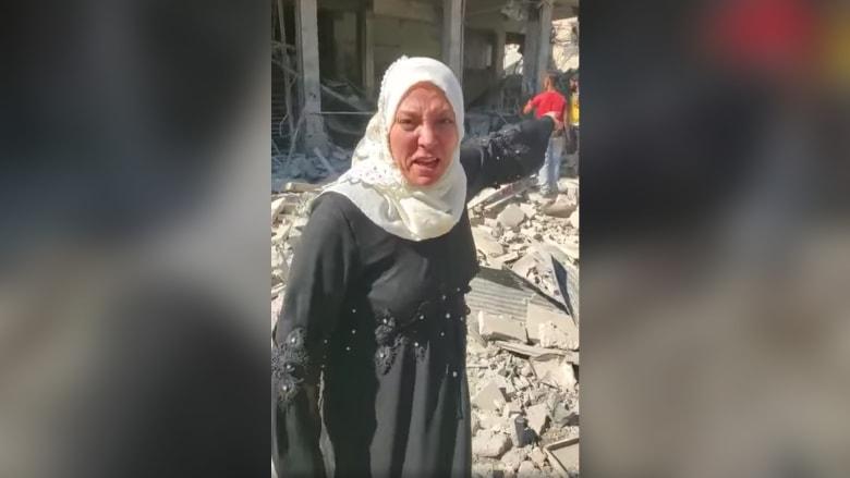 بين حطام سوريا.. مناشدة مؤثرة من أمريكية لترامب بالمساعدة