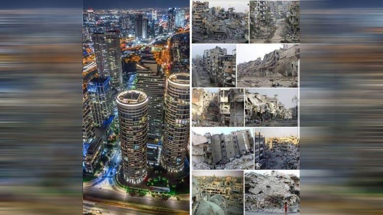 """فيصل القاسم يقارن تل أبيب بمدن سورية بـ""""عصر القيادة الحكيمة"""".. وأدرعي يُعلق"""