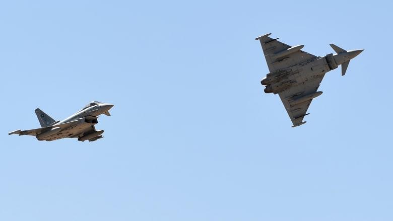 السعودية تستعرض قوتها الجوية في اليوم الوطني 89