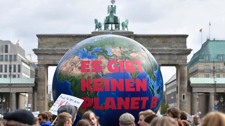 مظاهرات من أجل مواجهة التغير المناخي في برلين بألمانيا