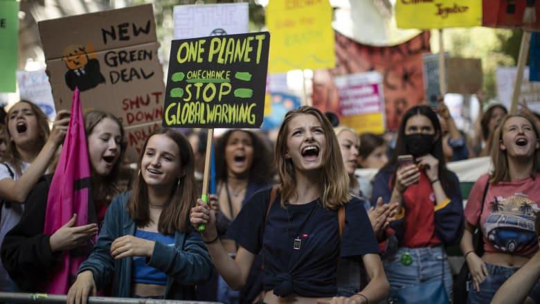 مظاهرات من أجل مواجهة التغير المناخي في العاصمة البريطانية لندن