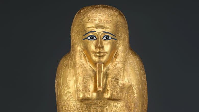 تابوت ذهبي مسروق يعود إلى مصر بعد 8 سنوات من تهريبه