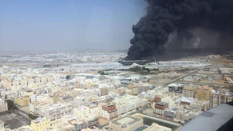 السعودية.. حريق في محطة قطار الحرمين وتداول مقطع فيديو لمشاركة الطيران بإخلائها