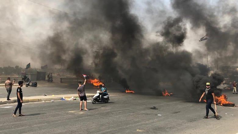 """""""نت بلوكس"""": حظر فيسبوك وتويتر وانستغرام وواتسآب خلال احتجاجات متنامية بالعراق"""