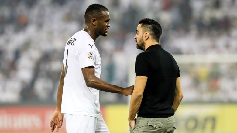 أول تعليق من لاعب السد القطري بعد طرده في مباراة الهلال السعودي
