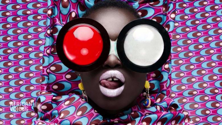 الجمال الأفريقي في أعمال هذه المصورة