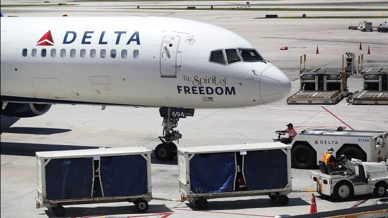 """طائرة تابعة لخطوط """"دلتا"""" للطيران بأمريكا"""