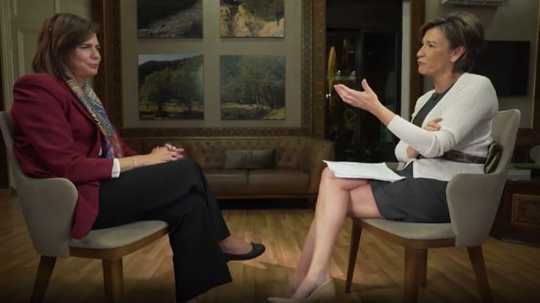 """وزيرة داخلية لبنان تبين لـCNN ما هي الحكومة """"النظيفة"""""""