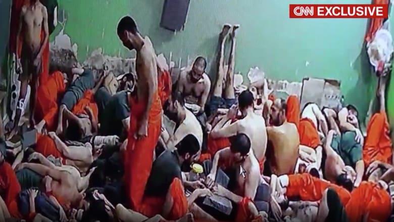 مع إخفاء خبر مقتل البغدادي.. CNN تدخل سجنا لعناصر داعش