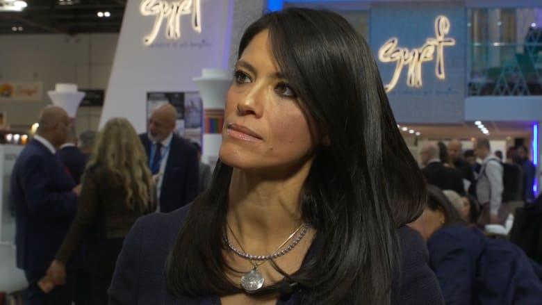 وزيرة السياحة المصرية: الناس يثبتون بأفعالهم أرقام السياحة
