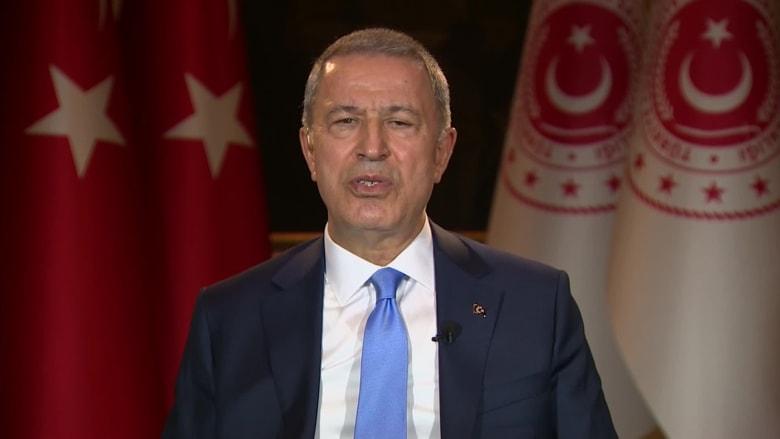 وزير الدفاع التركي يكشف لـCNN وجهة بلاده النهائية بسوريا