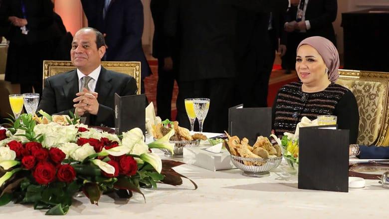 انتصار السيسي زوجة رئيس مصر تهنئ بالمولد النبوي.. وهكذا رد نشطاء بفيسبوك