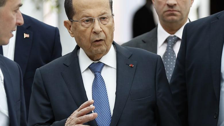 """""""إذا ما في عندن اوادم بهالدولة يروحوا يهاجروا"""".. رئيس لبنان يشعل تويتر"""