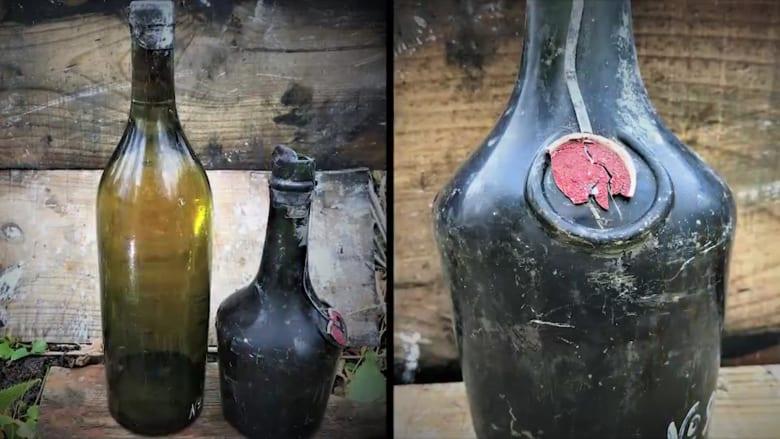 العثور على خمور عمرها 100 عام من حطام سفينة من الحرب العالمية