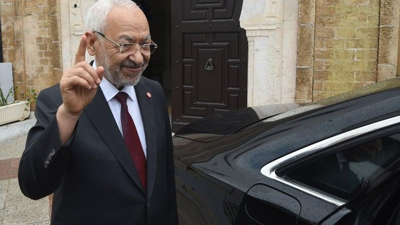 راشد الغنوشي رئيسا لمجلس نواب الشعب في تونس بـ123 صوتا