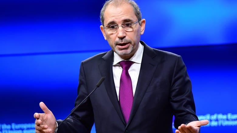 """وزير الخارجية الأردني: المستوطنات الإسرائيلية """"تقتل"""" حل الدولتين ونحذر أمريكا من تغيير موقفها تجاهها"""